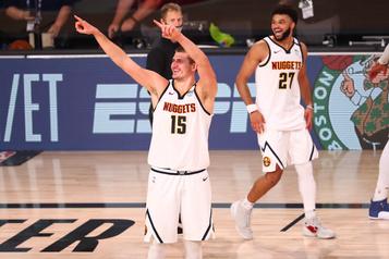 NBA Les Nuggets passent en finale de l'Ouest)