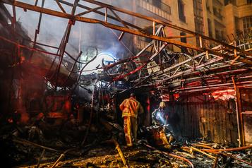 Au moins 18morts dans une explosion dans une clinique de Téhéran)