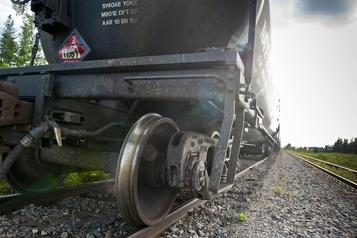 Déraillement d'un train à Nantes, près de Lac-Mégantic