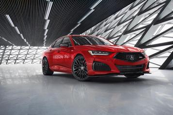 Acura espère devenir plus concurrentiel avec sa nouvelleTLX)