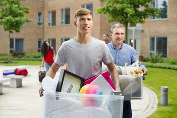 Les jeunes Américains rentrent chez leurs parents