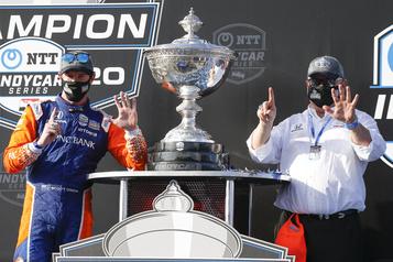 IndyCar Scott Dixon champion pour la sixième fois)