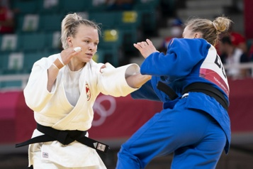 Judo Jessica Klimkait et Arthur Margelidon passent au prochain tour)