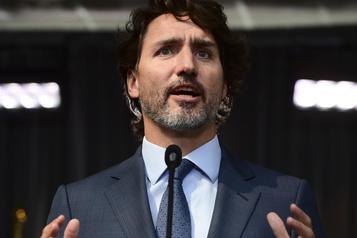 Justin Trudeau s'adressera à la nation mercredi soir)