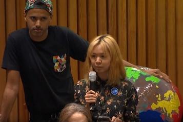 À l'ONU, les jeunes dénoncent l'écoblanchiment
