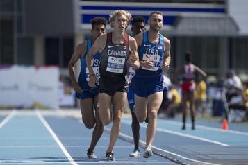Athlétisme: CharlesPhilibert-Thiboutot et le luxe du temps )