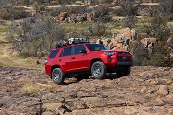 Essai routier Toyota 4Runner 2020: la vieille garde)