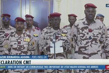 La junte au pouvoir au Tchad refuse de négocier avec les rebelles)