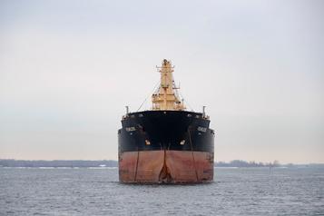 Moins de marchandises sur la voie maritime en 2019