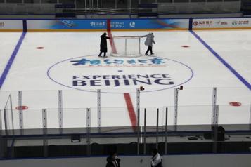 Premières épreuves tests pour les JO d'hiver à Pékin)