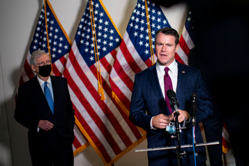 1200milliards de dollars Les républicains retardent le plan Biden sur les infrastructures)
