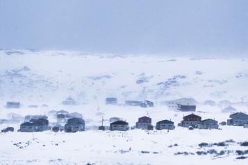 Jusqu'à -52degrés Le «froid extrême» gagne le Nunavik )