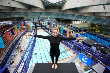 Plongeon de haut vol: Lysanne Richard prend de la hauteur au Parc olympique