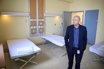 L'hôpital Royal Victoria accueille à nouveau des sans-abri pour l'hiver