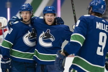 Le Canadien s'incline en fusillade face aux Canucks)