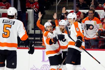 Claude Girouxrécolte quatre points dans un gain des Flyers