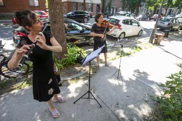 Des concerts classiques dans les rues de Montréal)