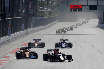 F1: le GP d'Azerbaïdjan reporté à son tour; la saison commencerait à Montréal