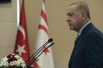 Solution à deux États En visite à Chypre, Erdogan insiste sur la partition définitive)