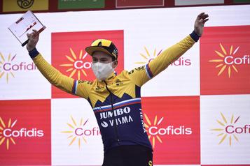 Tour d'Espagne Primož Roglič: «Le plus fort de la ligue» )