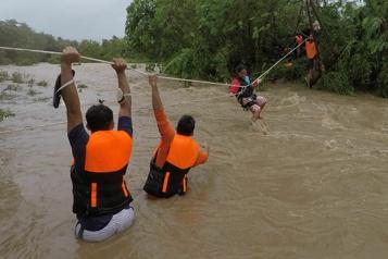 Typhon aux Philippines Le bilan s'alourdit à 19 morts