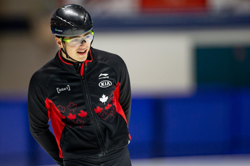 Patinage de vitesse: le retour de David La Rue