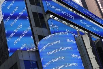 Morgan Stanley dépasse les attentes)