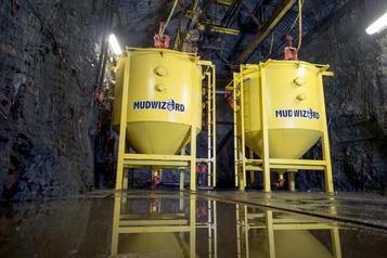 Industrie minière TechnoSub: transformer la boue en eau)