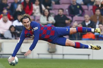 Antoine Griezmann est à la peine... comme le FC Barcelone)
