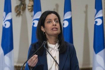 Dominique Anglade réclame l'implantation d'un «passeport liberté» )