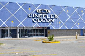 Cineplex perd près de 99millions au deuxième trimestre)