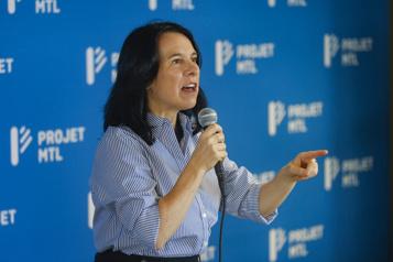 Début de campagne officiel de Projet Montréal Valérie Plante «gonflée à bloc» )