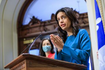 Gestion de la pandémie Anglade tient un discours «irresponsable», accuse Guilbault)