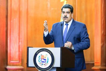 Venezuela Commando spécial contre d'éventuelles opérations américaines)