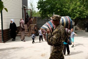 Conflit Kirghizstan-Tadjikistan Au moins 31?morts dans les affrontements)