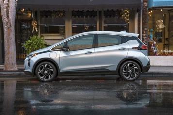Rappel de Chevrolet Bolt Le fabricant de batteries LG va rembourser 1,9milliard de dollars à GM