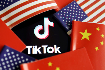 TikTok porte plainte contre les sanctions de Washington)