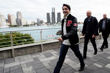 Justin Trudeau plaide pour une majorité