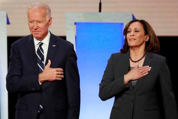 Premier discours très attendu pour le tandem Biden-Harris)