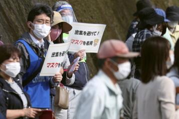 Japon Nouvel état d'urgence à trois mois des Jeux de Tokyo)