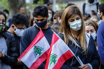 «Il faut essuyer nos larmes et se mobiliser», disent des Libanos-Canadiens)