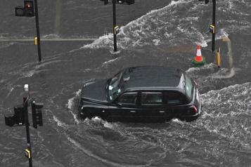 Deuxième inondation en deux semaines à Londres)