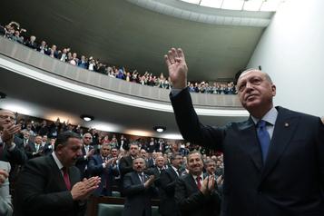 Syrie: Erdogan exclut toute négociation avec les forces kurdes