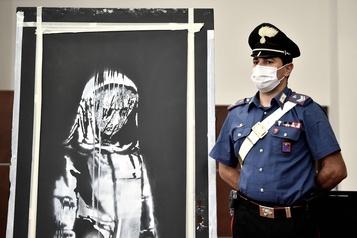 Banksy volé à Paris: six personnes inculpées en France)