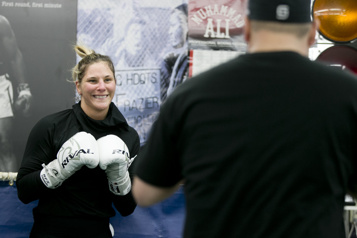 Boxe Un nouveau combat de championnat pour Marie-Ève Dicaire)