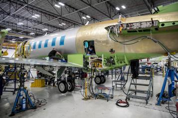 Jets d'affaires Un Challenger350 amélioré pour Bombardier )
