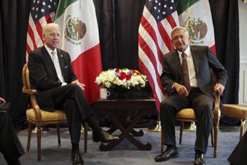 Biden reçoit virtuellement Lopez Obrador, l'immigration au cœur des débats)