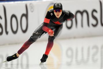 Patinage de vitesse: Graeme Fish obtient le bronze sur 10000m