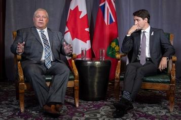 Doug Ford rencontrera Justin Trudeau vendredi
