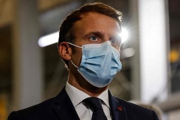 COVID-19 Macron veut répondre «aux fausses informations» sur Instagram et TikTok)